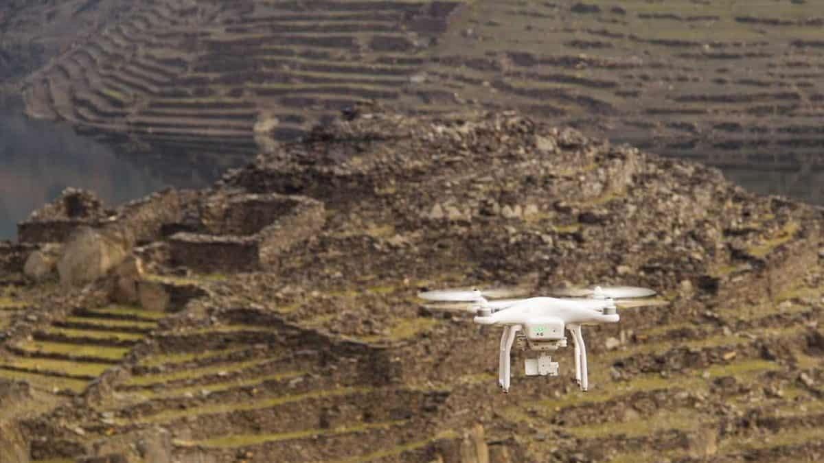 Video aereo drone galicia