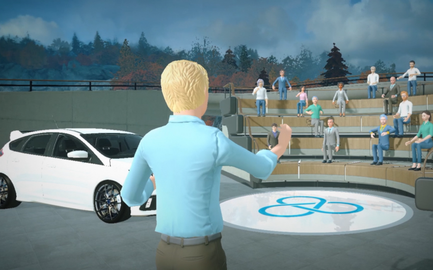 presentación de producto en realidad virtual